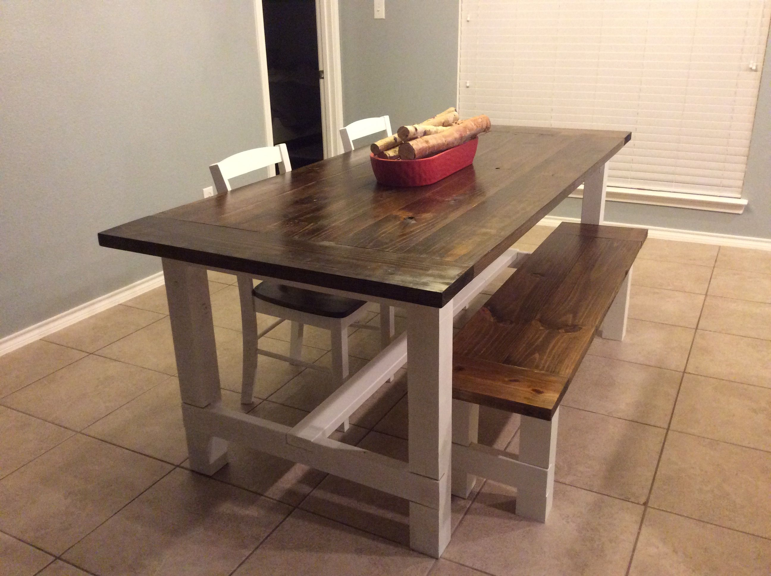 Diy Country Style Dining Table R Diy Diy Dining Table Dining