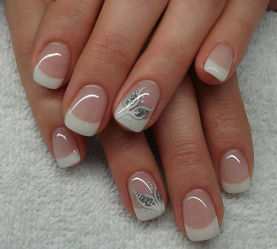 ongles - Recherche Google | Nail Art French Polish with a Twist ...