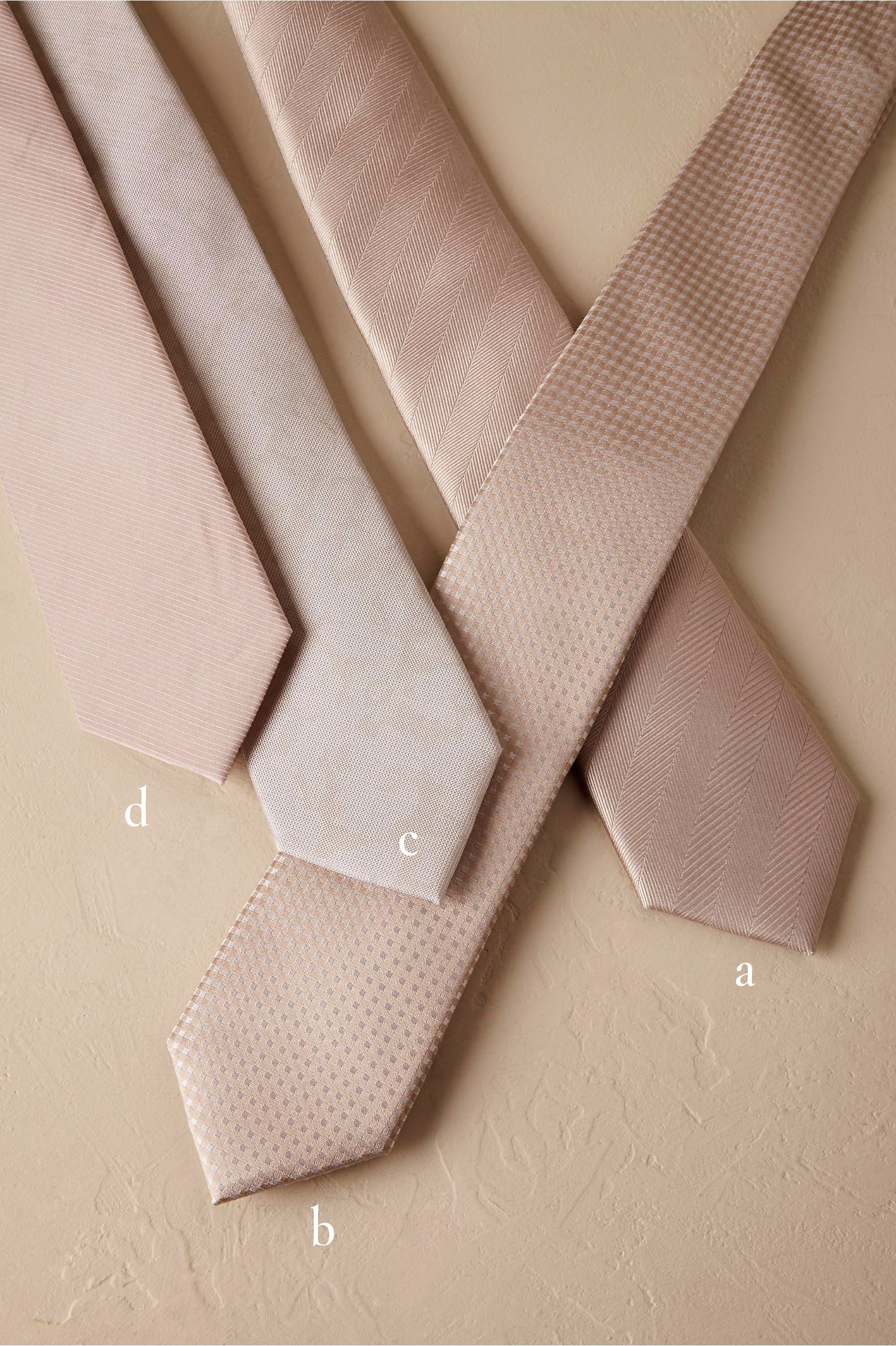 BHLDN Neutral Tie Bar Champagne Collection in Bridal Party | BHLDN ...