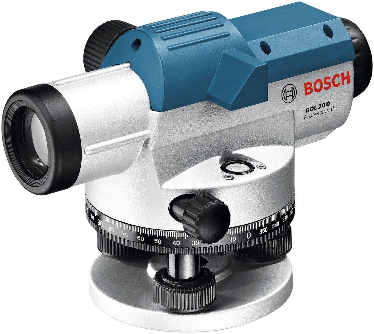 BOSCH PROFESSIONAL Nivelliersystem »GOL 20 D«, optisch