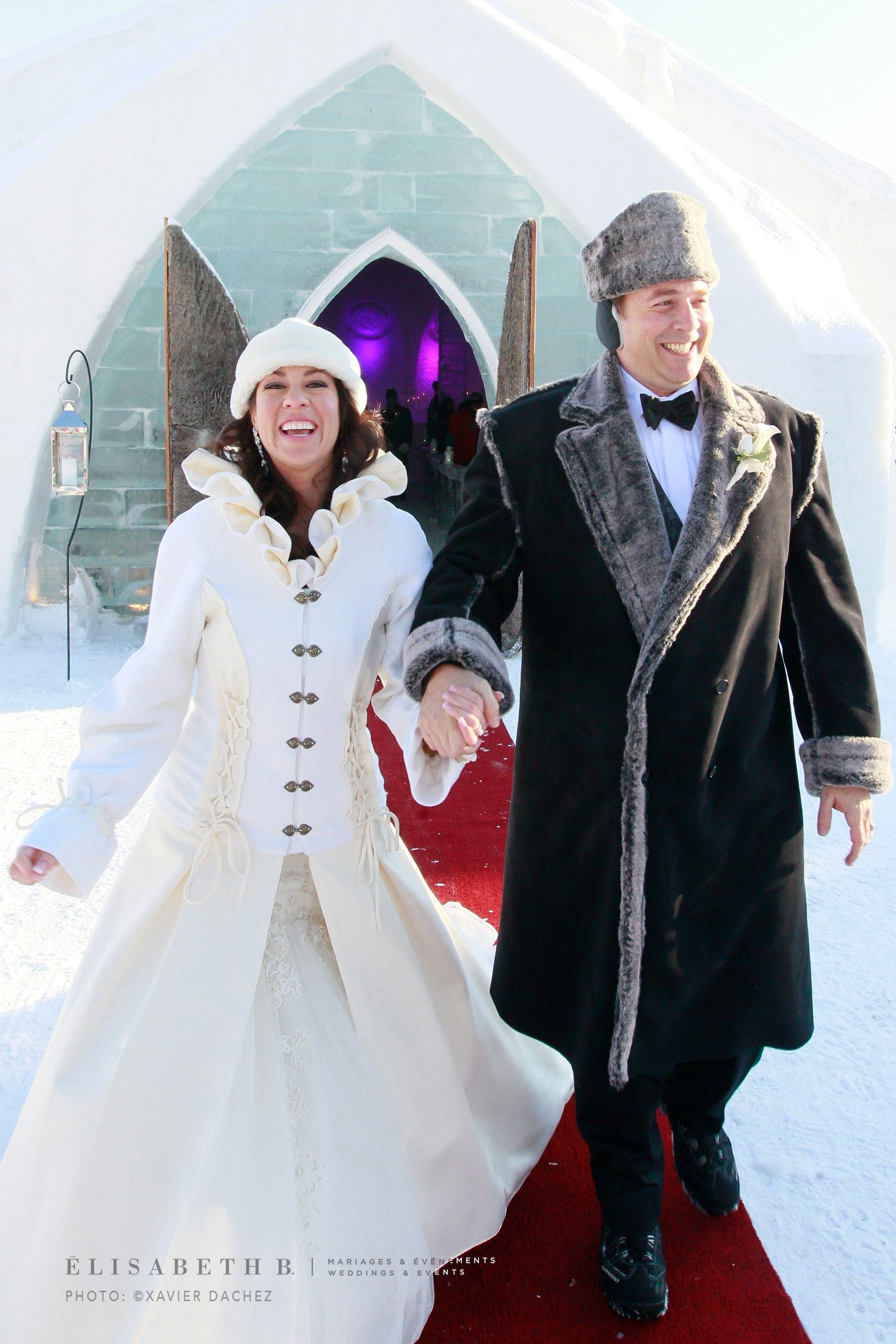 Totally Chilled In Quebec City Winter Wedding