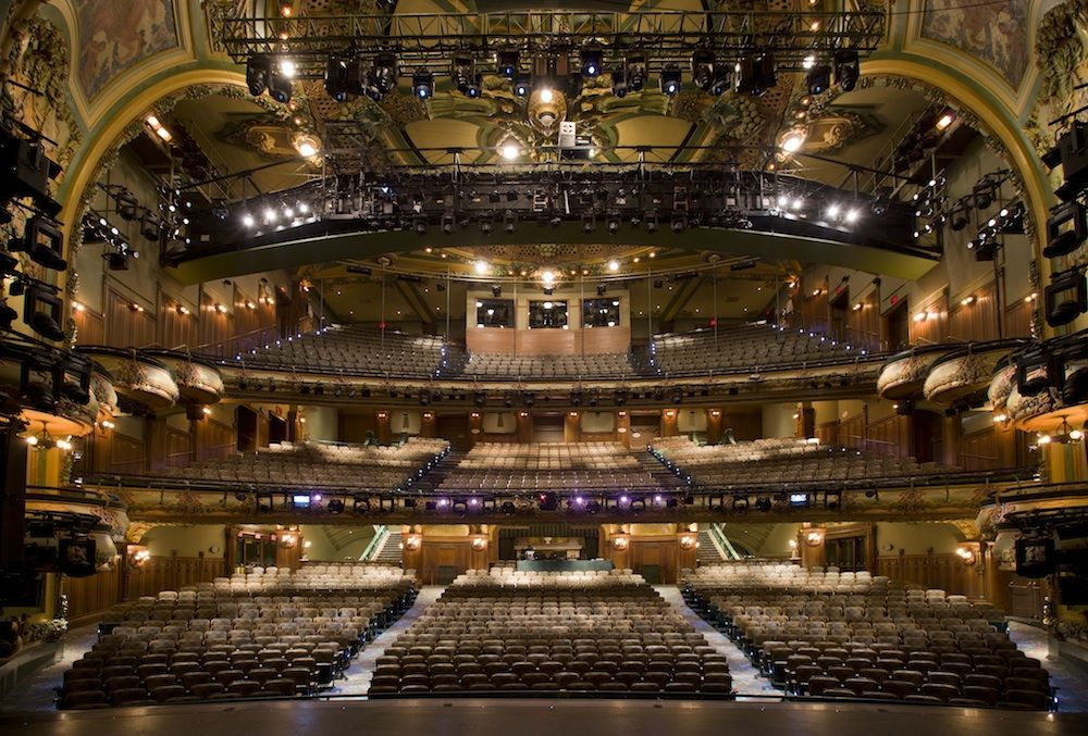 The New Amsterdam Theatre New Amsterdam New York Tours New York City Ny