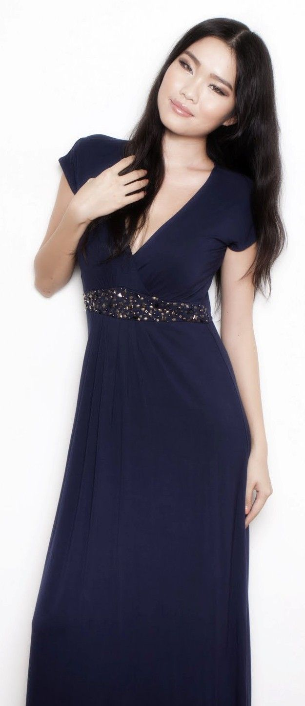 Annee Matthew Bianca Maxi Dress For Pregnant And