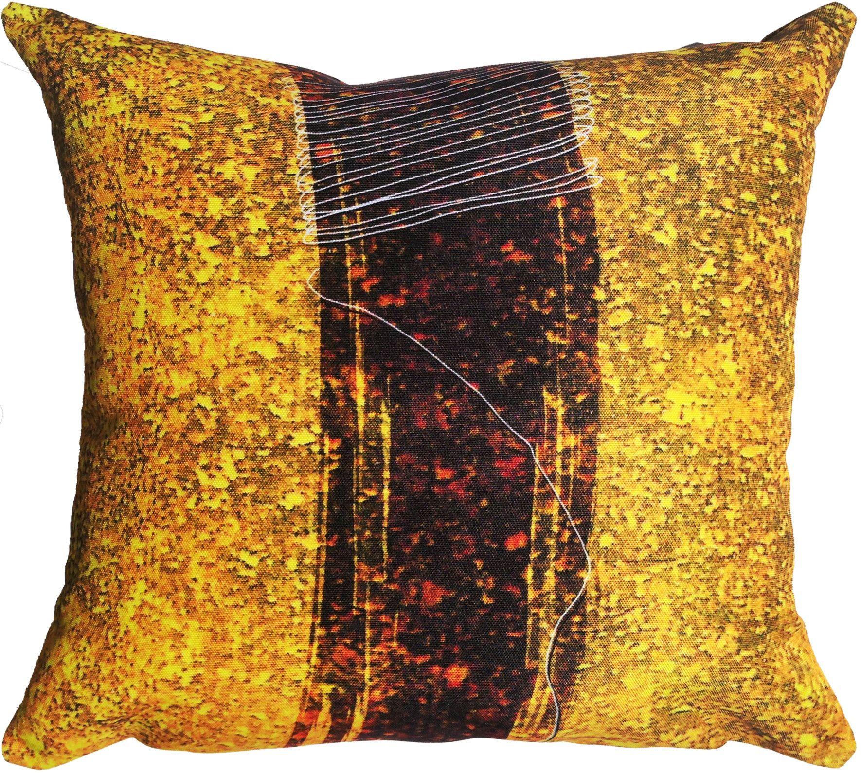 'Ambitious Thread' Throw Pillow