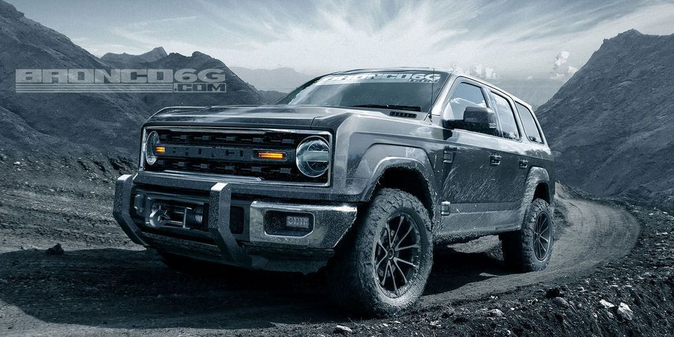 Ford Reportedly Won T Build A Two Door Bronco Ford Bronco 2019