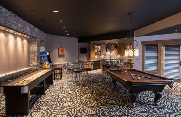 indulge your playful spirit with these game room ideas | game