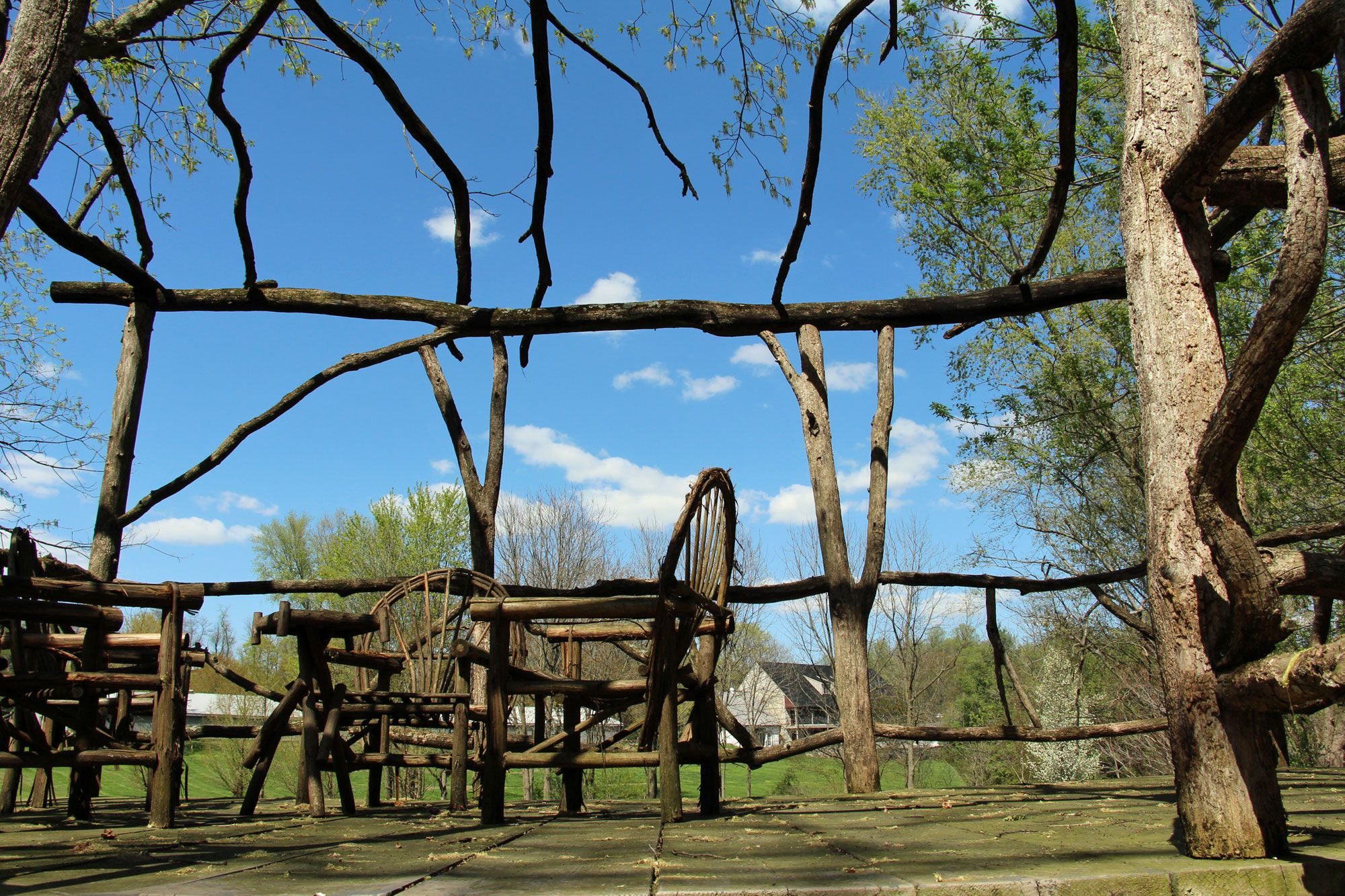 May Day at Pheasant Run Farm Bed & Breakfast Bed and