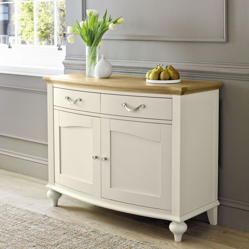 Bentley Designs Montreux Pale Oak And Antique White Sideboard