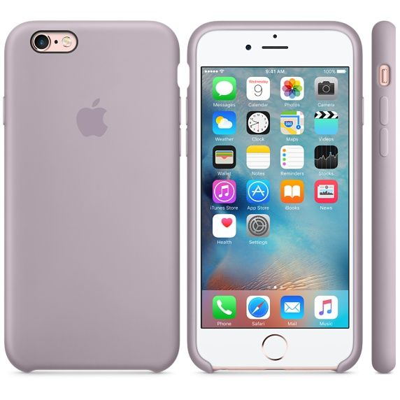 5c65a5d034b70 iPhone 6s Silicone Case - Lilac - Apple