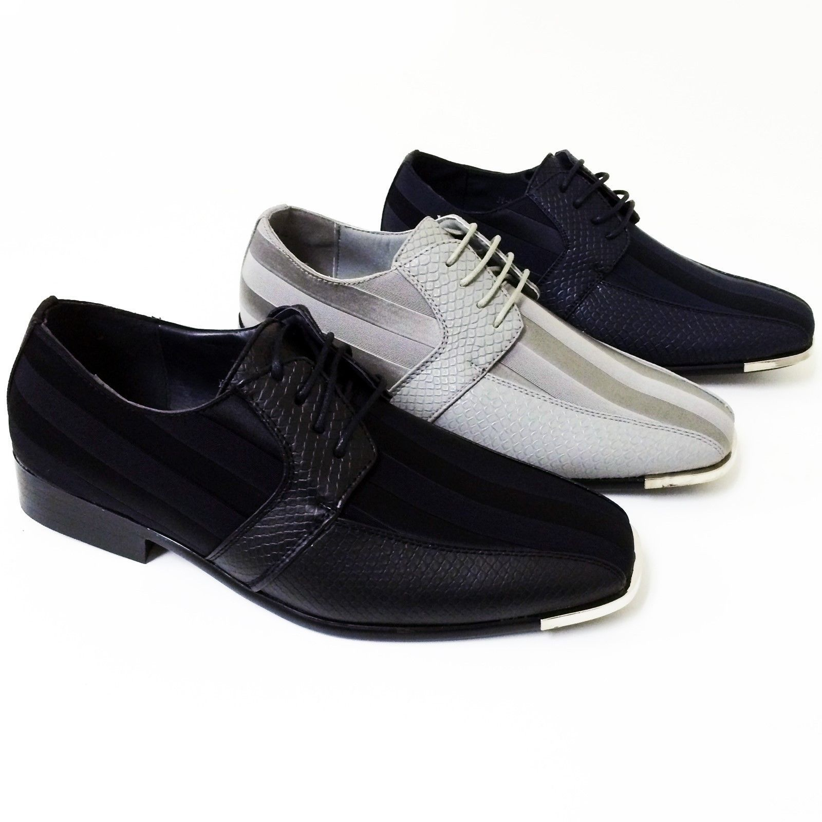 Nice amazing mens dress casual shoes tuxedo oxford fashion laceup