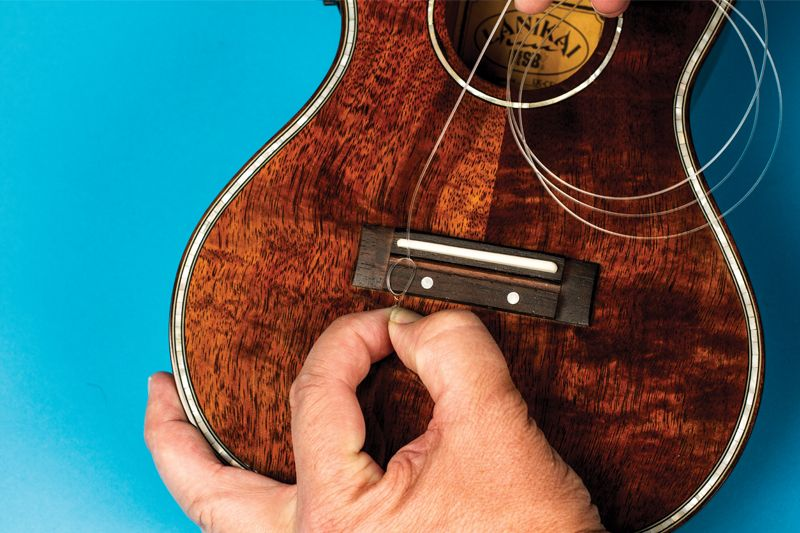 Gear guru change your uke strings in 7 easy steps