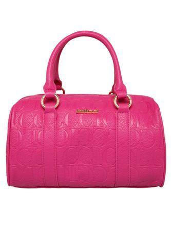 d03322f4e Bolsa Baú Colcci Monograma Rosa Bolsas Colcci, Bolsa Tiracolo, Bolsas De  Couro, Acessórios