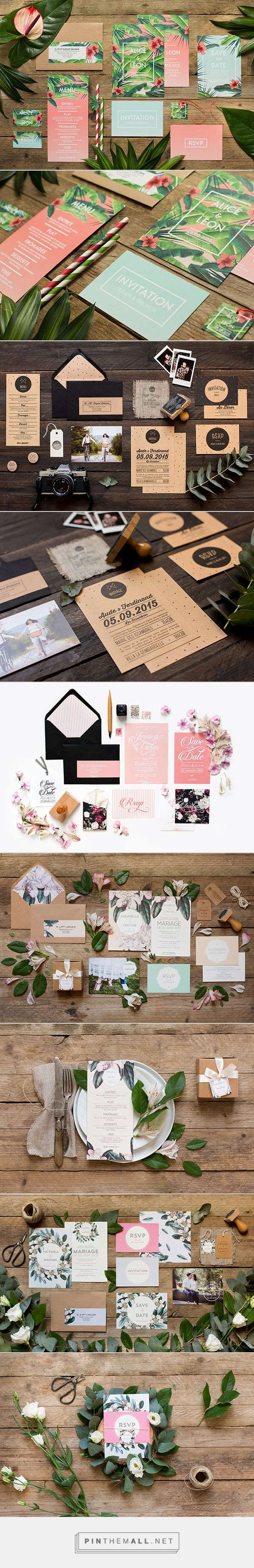 Gorgeous floral graphic design. /// wedding stationary & save the dates