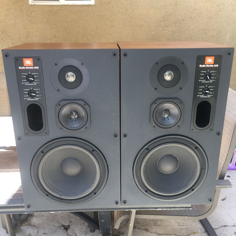 Details about Rare Vintage JBL 4313B Control Monitor Studio