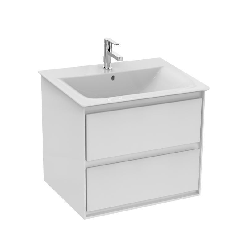 Ideal Standard Connect Air Waschtisch Unterschrank Mit 2 Auszugen Weiss Glanzend Weiss Matt Unterschrank Waschtischunterbauten Waschtisch