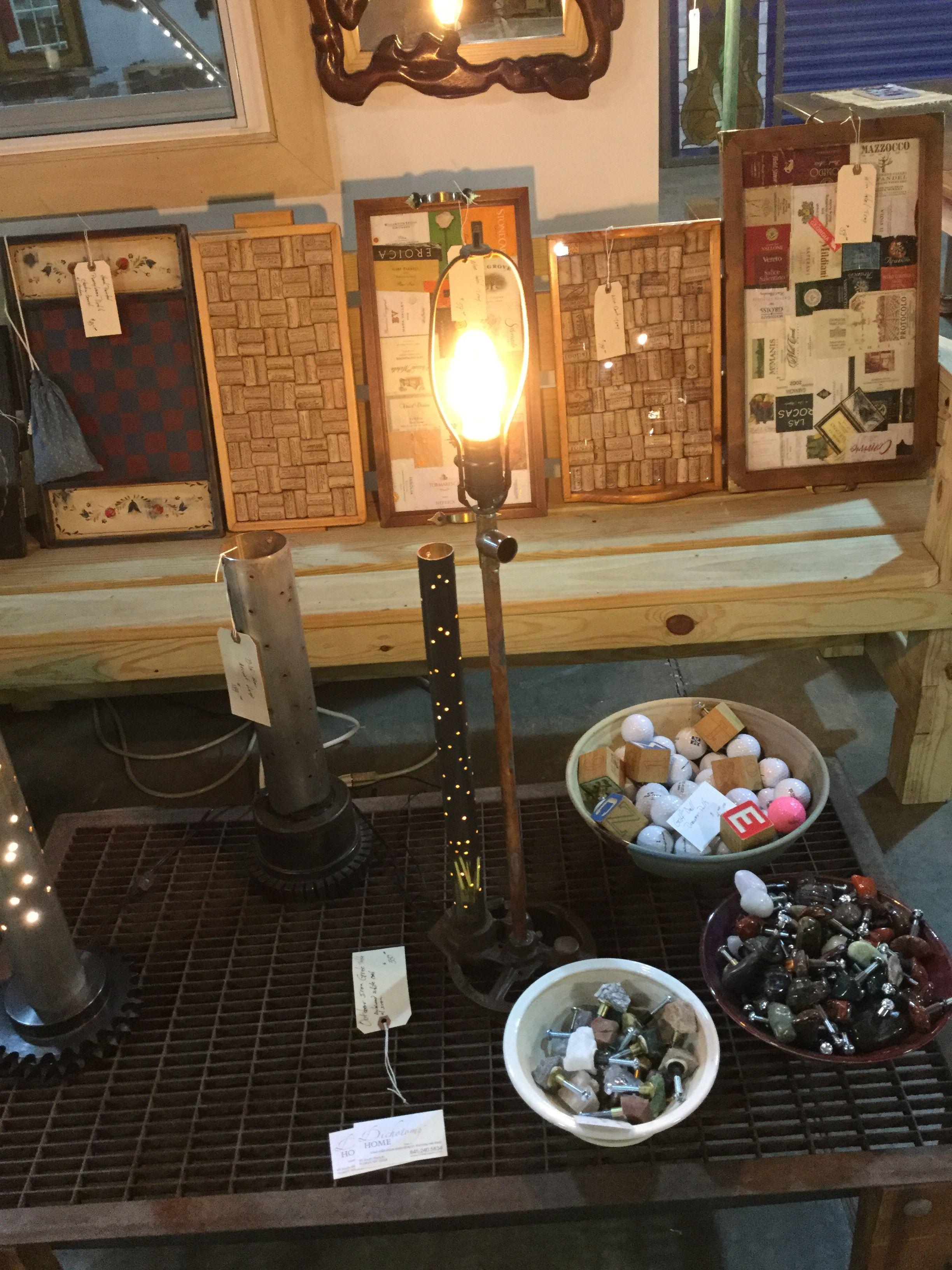Industrial desk / accent lamp. LED. #chrisungaro.com #customlighting #hudsonvalleygalleries #handmadehudson #dichotomyhome