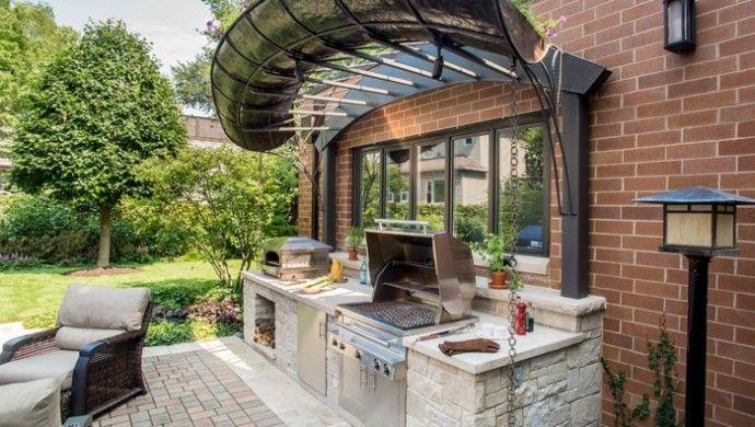 Gartenideen Außenküche Selber Bauen
