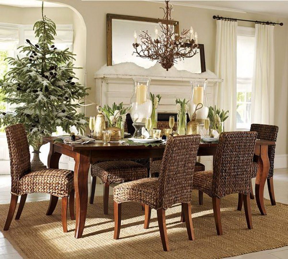 Seagrass dining chairs, for example, have a relatively lower price ...