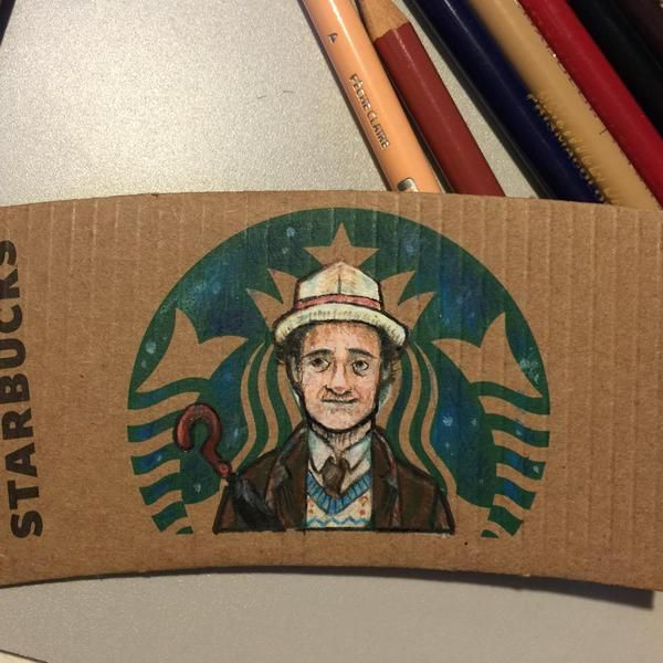 Coffee Sleeves Go From Boring To Wow With Geeky Artwork