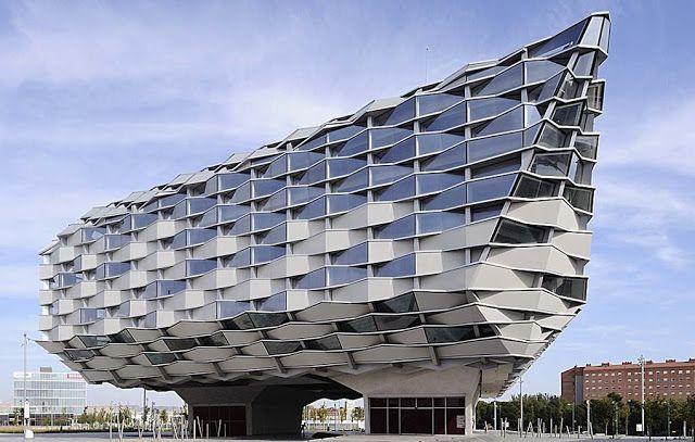 El Pabellón de Aragón de la Expo2008 en Zaragoza