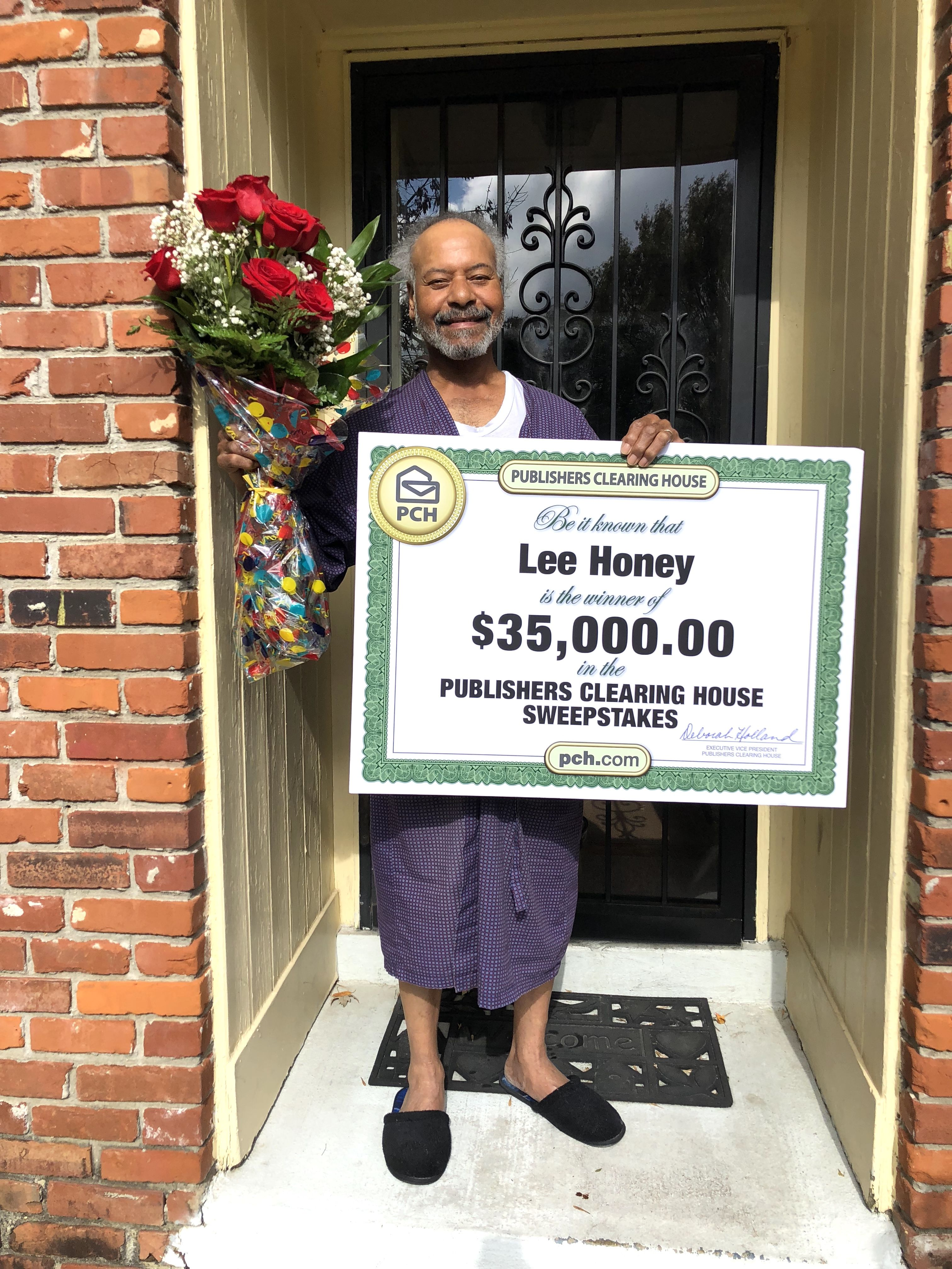 Publishers Clearing House Winners: Lee Honey of Memphis