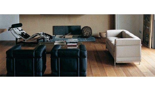Lc 2 Divano 2 Sofa Mobel Berlin Minimalistisches Design Moderne Sessel