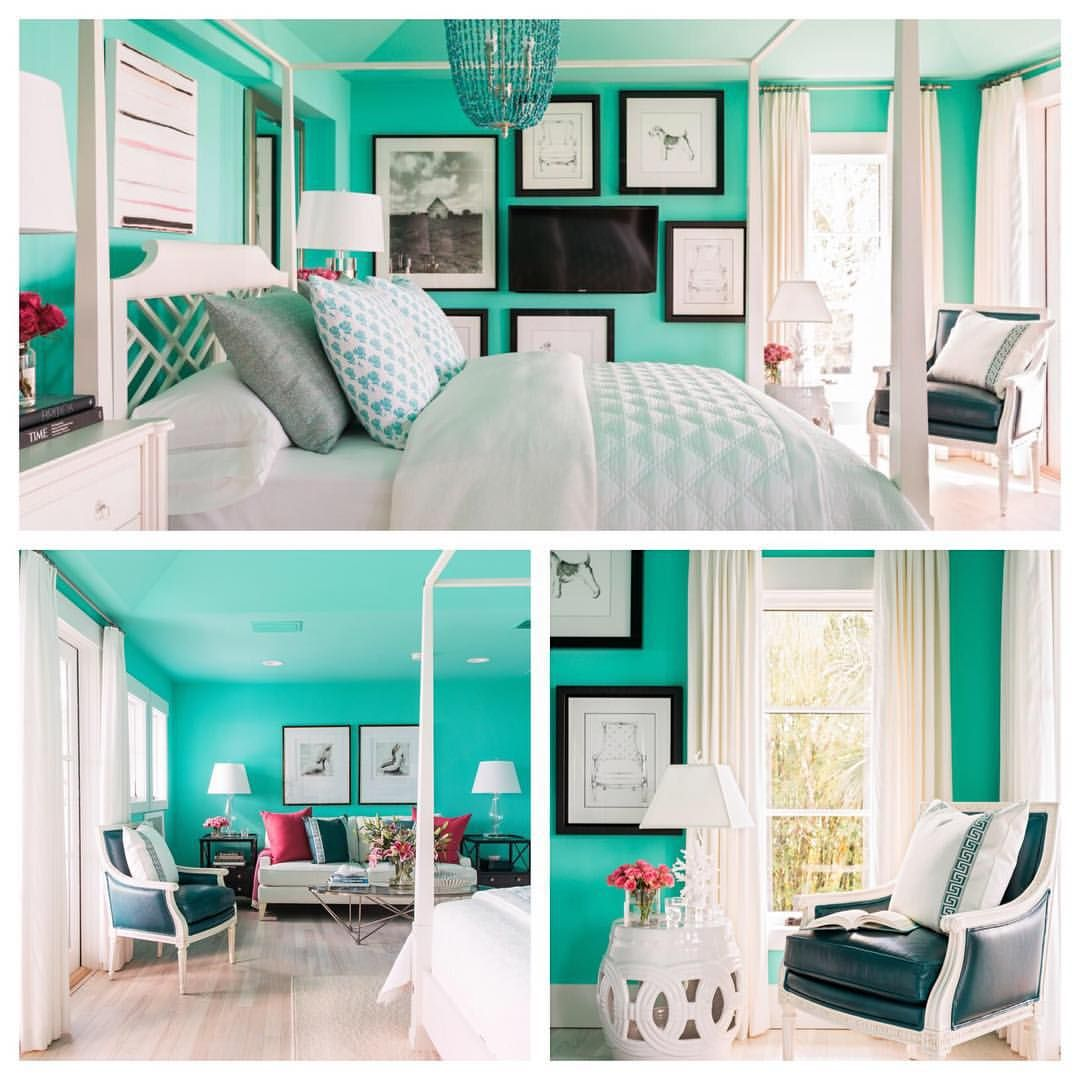 "@hgtv On Instagram: ""The Space With The Boldest Color In"