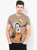 e5cc5c13 Buy Disney Brown Printed Round Neck T-Shirts for Men Online India, Best  Prices, Reviews | DI040MA79TZSINDFAS