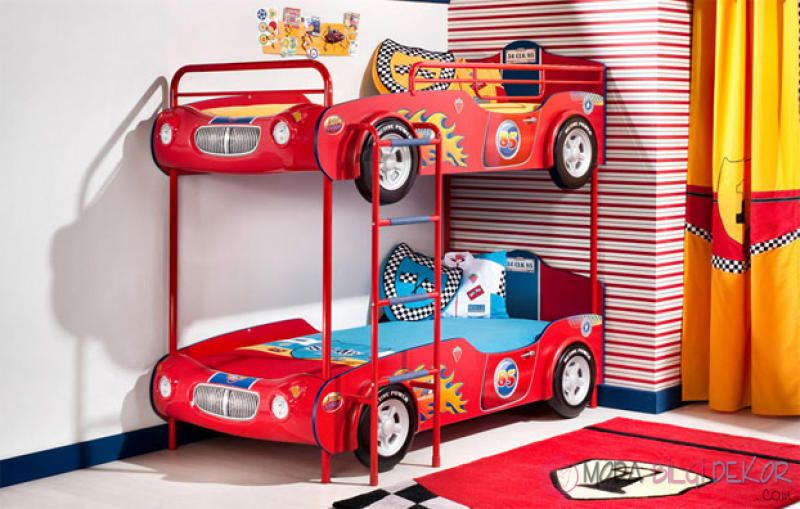 31 Cute Car Beds To Drive Your Kids To Dreamland Bunk Beds Kid