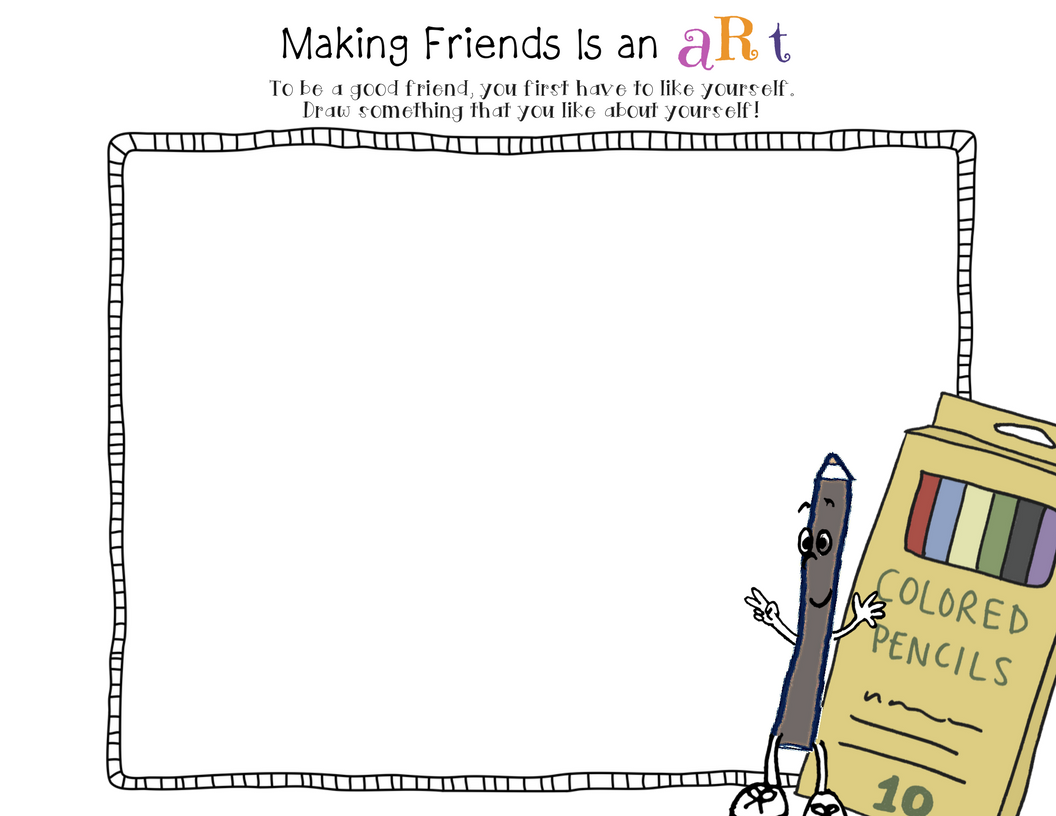 Making Friends Is An Art By Julia Cook Lesson