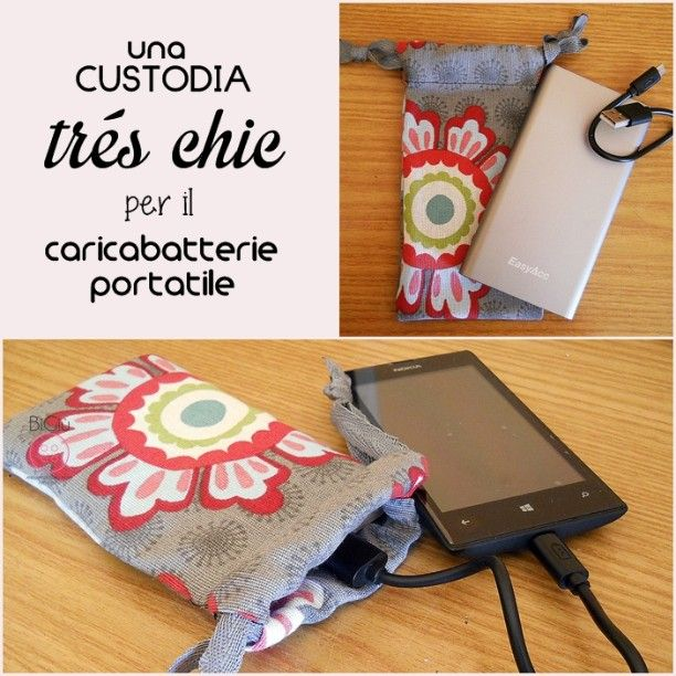 Diy A Pouch For New Power Bank Enjoying The Every Moment With It Hobbies And Crafts New Iphone Creative Pictures