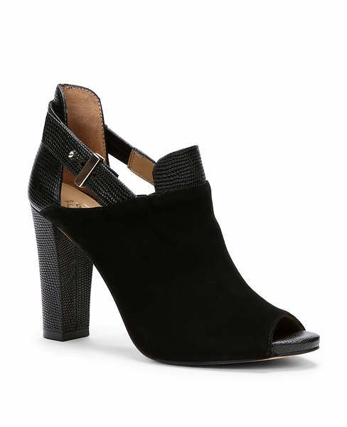 Analeigh Suede Peeptoe Shooties
