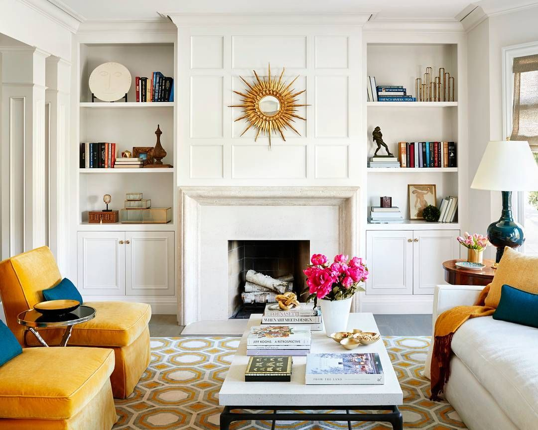 This room is literally GLOWING. ☀ (: James Carrière | Design ...