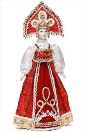 Кукла в русском национальном костюме (с изображениями ...