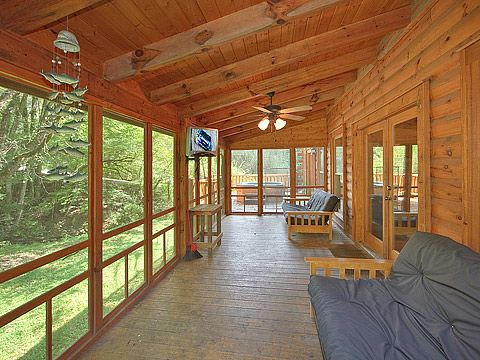 This enclosed deck more fits my house - even tho it is not ... on Enclosed Back Deck Ideas id=55834