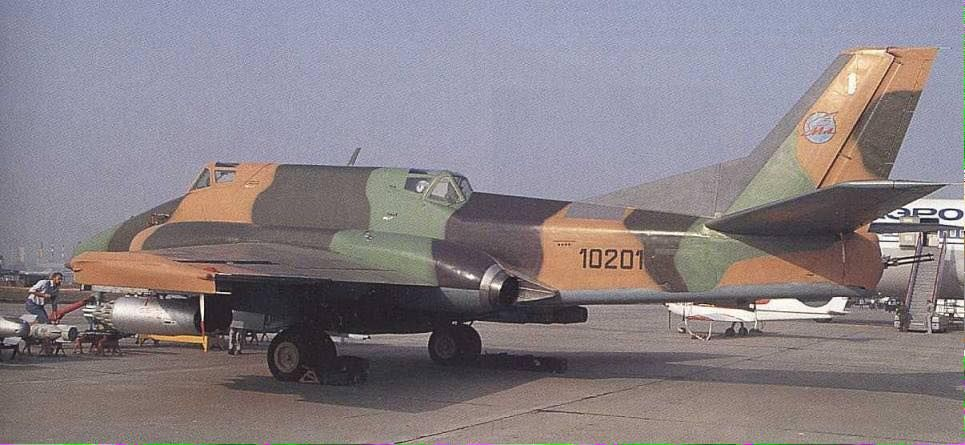 Sturmovik - the Ilyushin Il-40, NATO named Brawny. 7 were built. Apparently it flew ok until it fired its guns were fired, when combustible gases caused the engines to flame out. Ilyushin then moved the intakes to the wing roots and later redesigned the aircraft again as the Il-102.