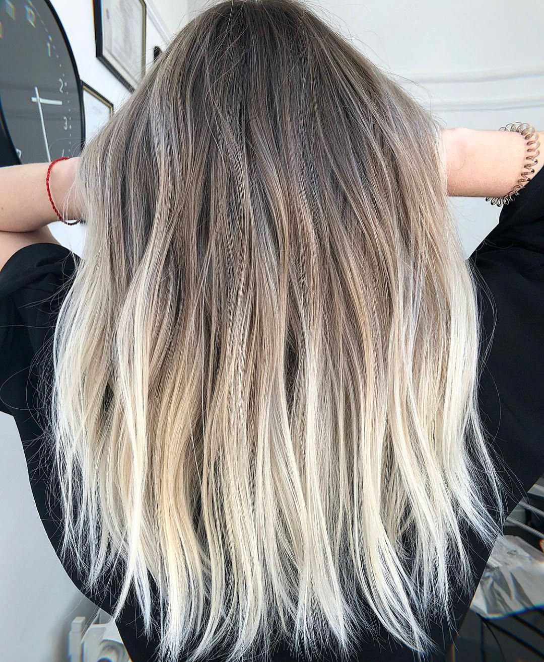 Short Haircuts For Women Straight Hair Back Short And Straight Hairstyles 20190227 Balayage Hair Ombre Hair Blonde Balayage Hair Blonde Medium