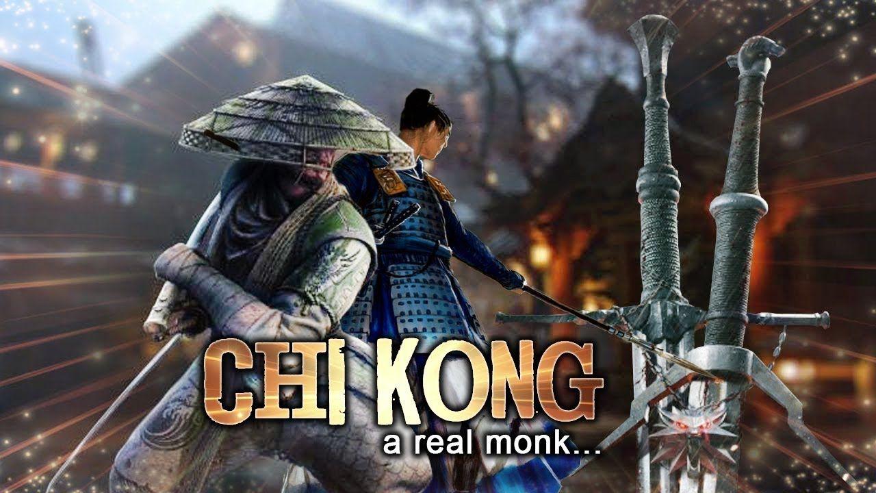 Chi kong a real monk ll kung fu action movie ll