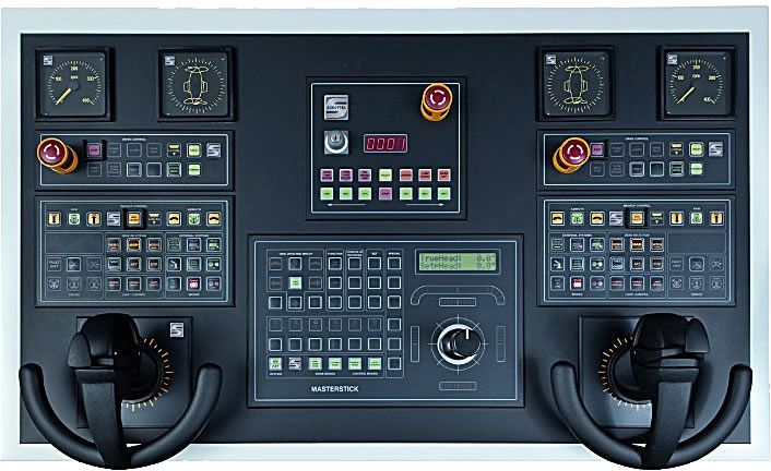 Schottel Steering And Control Systems Sst Are Tailored To Each Individual Application The Spectrum Control System Flight Simulator Flight Simulator Cockpit