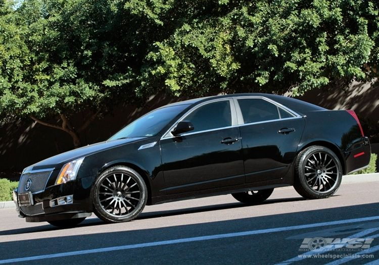 2011 Cadillac Cts With 20 Giovanna Martuni In Black Matte Wheels