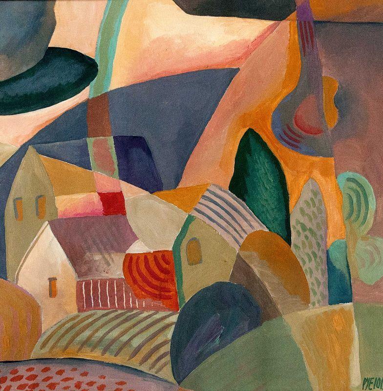Dwelling in Landscape 1 - Trevor Pye - Artist