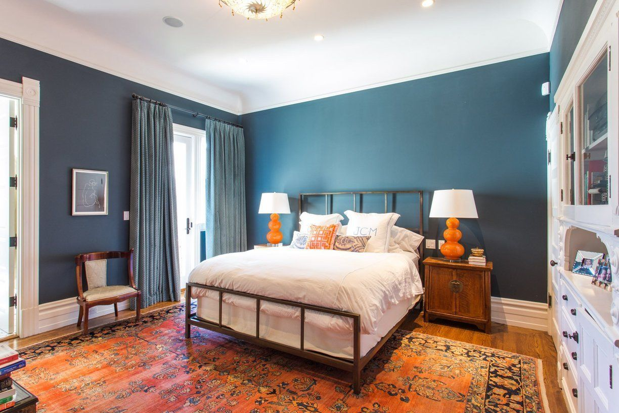 Master bedroom green paint ideas  Warm Sophistication in an ArtFilled San Francisco Home  San francisco