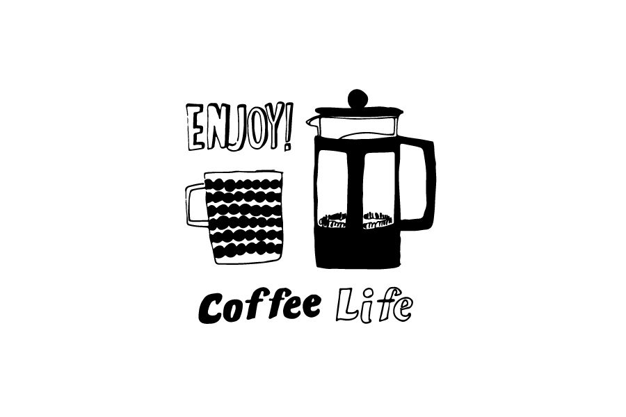 2015 Illustration Sayuri Nishikubo 2020 珈琲 イラスト コーヒーのイラスト ロゴデザイン