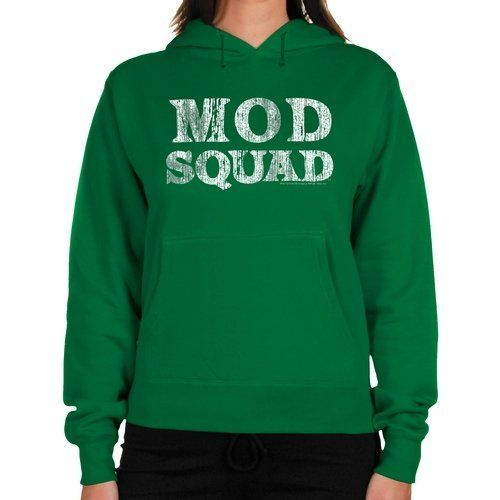 cd93ef490 Mod Squad Ladies Logo Midweight Pullover Hoodie - Green Football ...