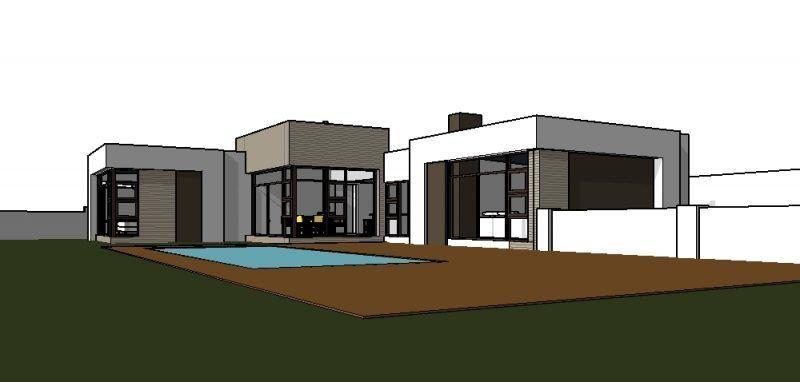 A Beautiful Single Story House Plan 3 Bedroom House Nethouseplansnethouseplans Single Storey House Plans House Plans South Africa Bedroom House Plans