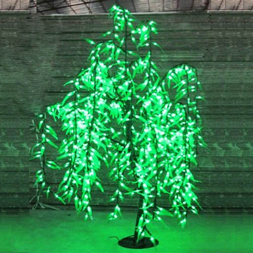 5ft 1.5M LED Willow Tree Light Outdoor Christmas Holiday party Light decor Green