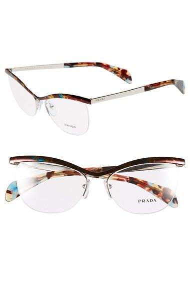 f654daaa4c8 Prada 54mm Optical Glasses (Online Only) available at  Nordstrom ...