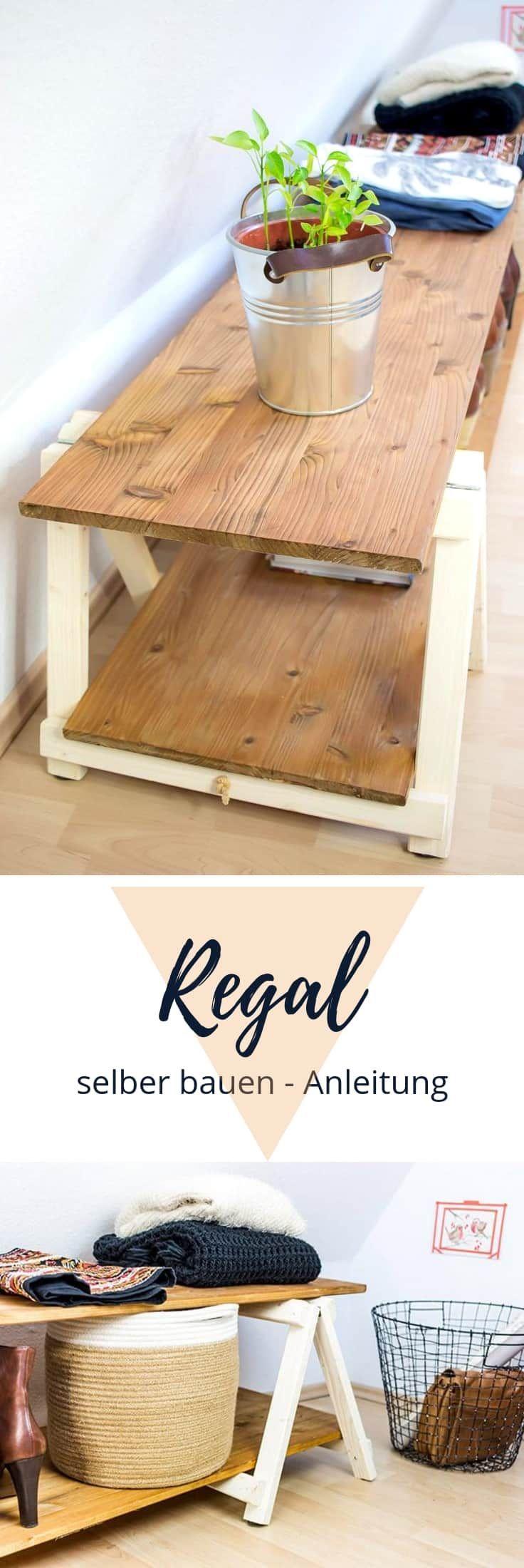 » DIY Regal: Regal bauen mit Mini Klappböcken