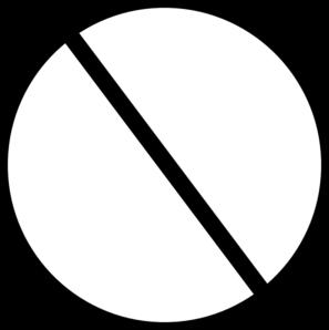 Black Crossed Out Circle Clip Art Vector Clip Art Online Royalty Free Public Domain Clip Art Online Art Art