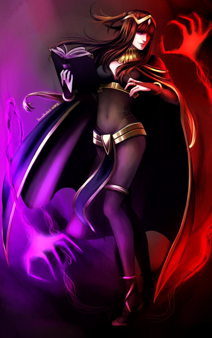 T (Tharja- Fire Emblem: Awakening) by Dareedse.deviantart.com on @deviantART